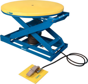 Bishamon Pneumatic-Lift-Table-EZ-UP
