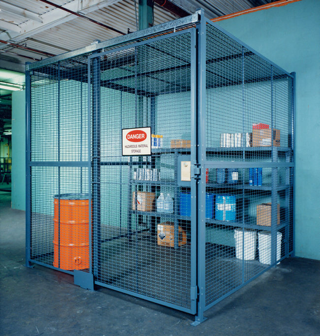 Wire Partitions/Tool Crib Security - Kraftwerks