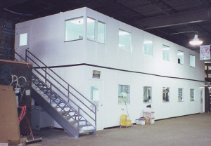 Two Story Modular Office